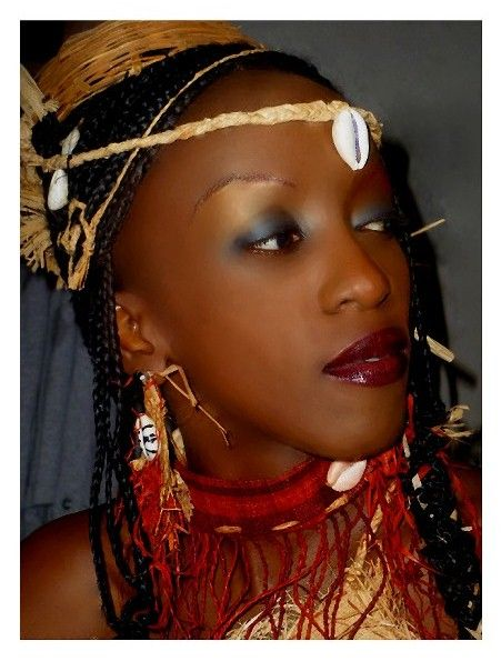 Gabon ladies