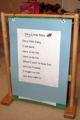 Fish Song Chart Ocean Theme Preschool Preschool Songs School Songs