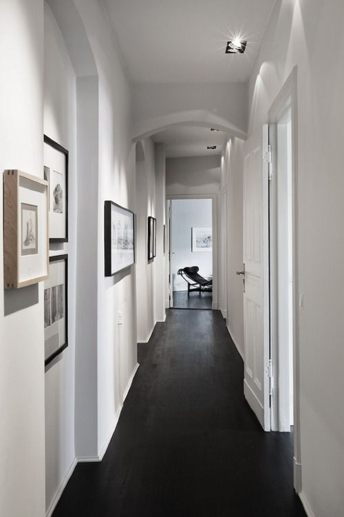 What To Do With Those Long Boring Hallways A Beautiful Solution