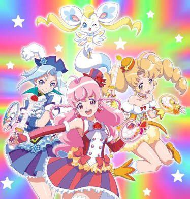 Balala The Fairies Magical Girl Anime Anime Magical Girl