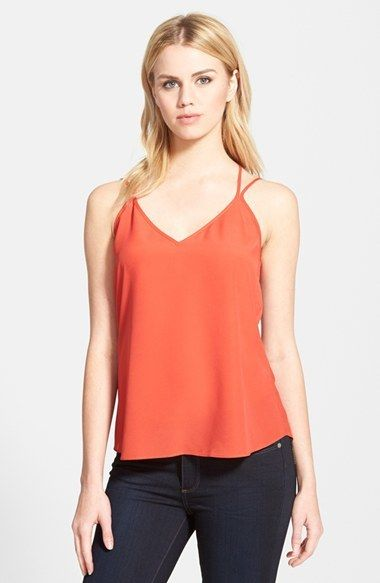de453f7ea91a Trouvé Strappy High Low Tank Night Out Tops