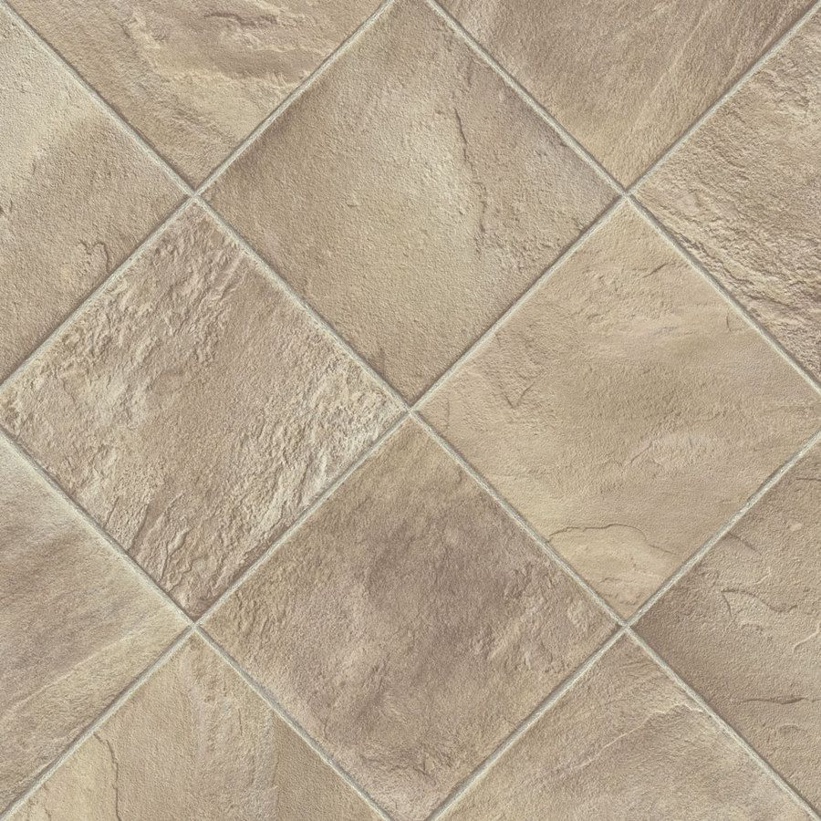 Vinyl Flooring Options Lowes: Shop Armstrong 12-ft W Shelbyville Taupe Geometric Low
