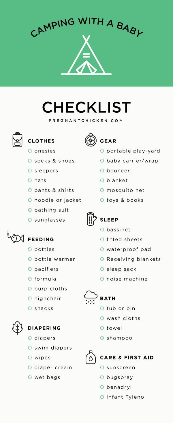 Photo of Tips For Camping With A Baby