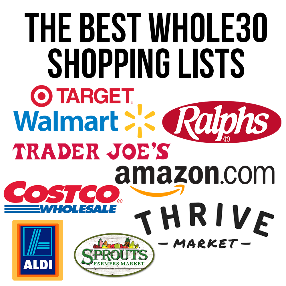 The Best Whole30 Shopping Lists for Trader Joe's, Target
