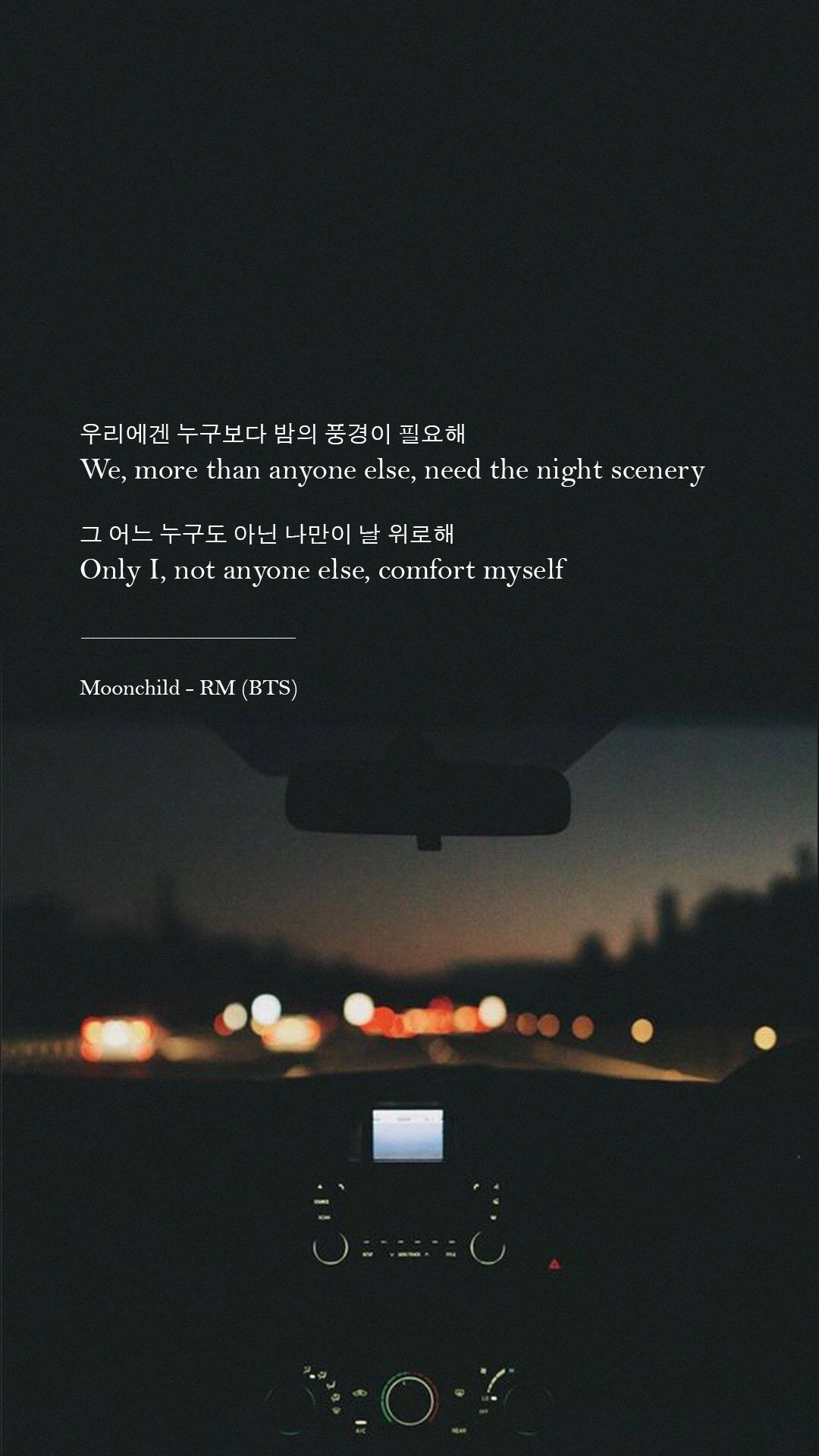 RM moonchild | Background | Header | ProfilePics : Phone