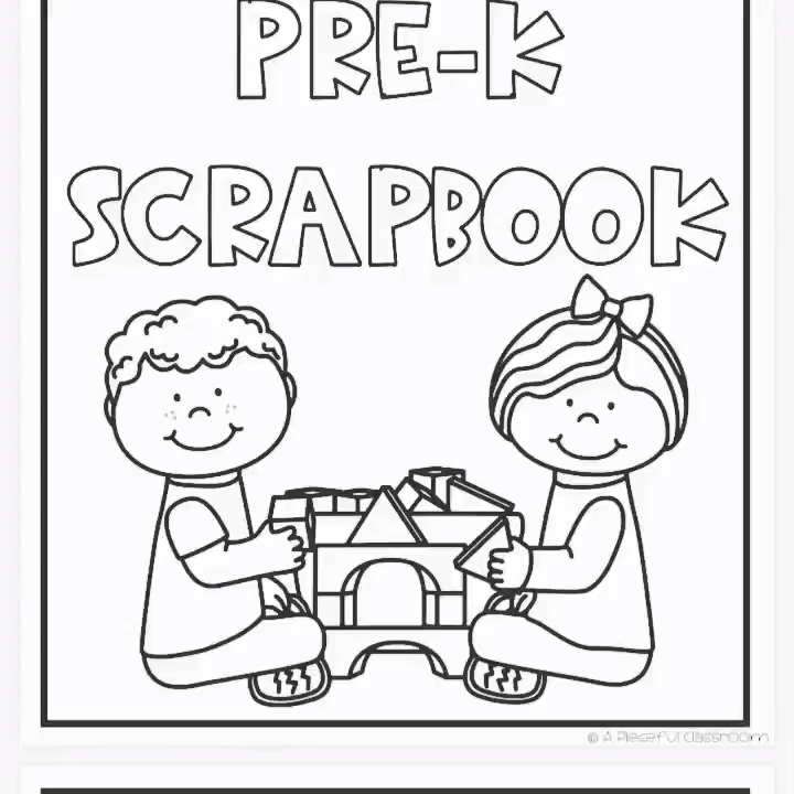 Adapted Special Education Year-Long Scrapbook