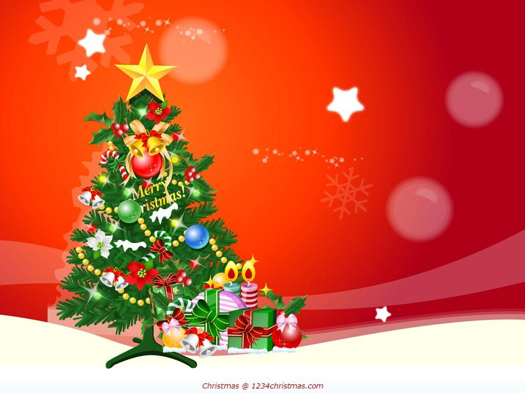 Glowing Christmas Tree Desktop Wallpaper With Images Christmas Desktop Wallpaper Christmas Desktop Christmas Tree Background