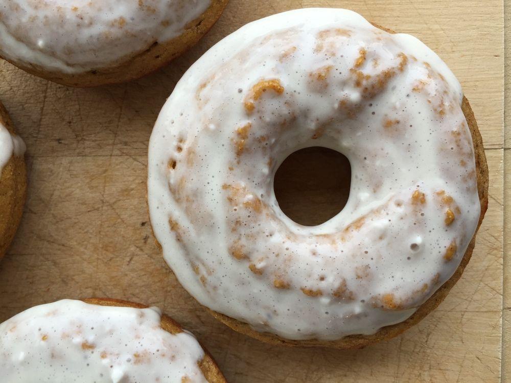 Pumpkin Protein Donuts — My Engineered Nutrition