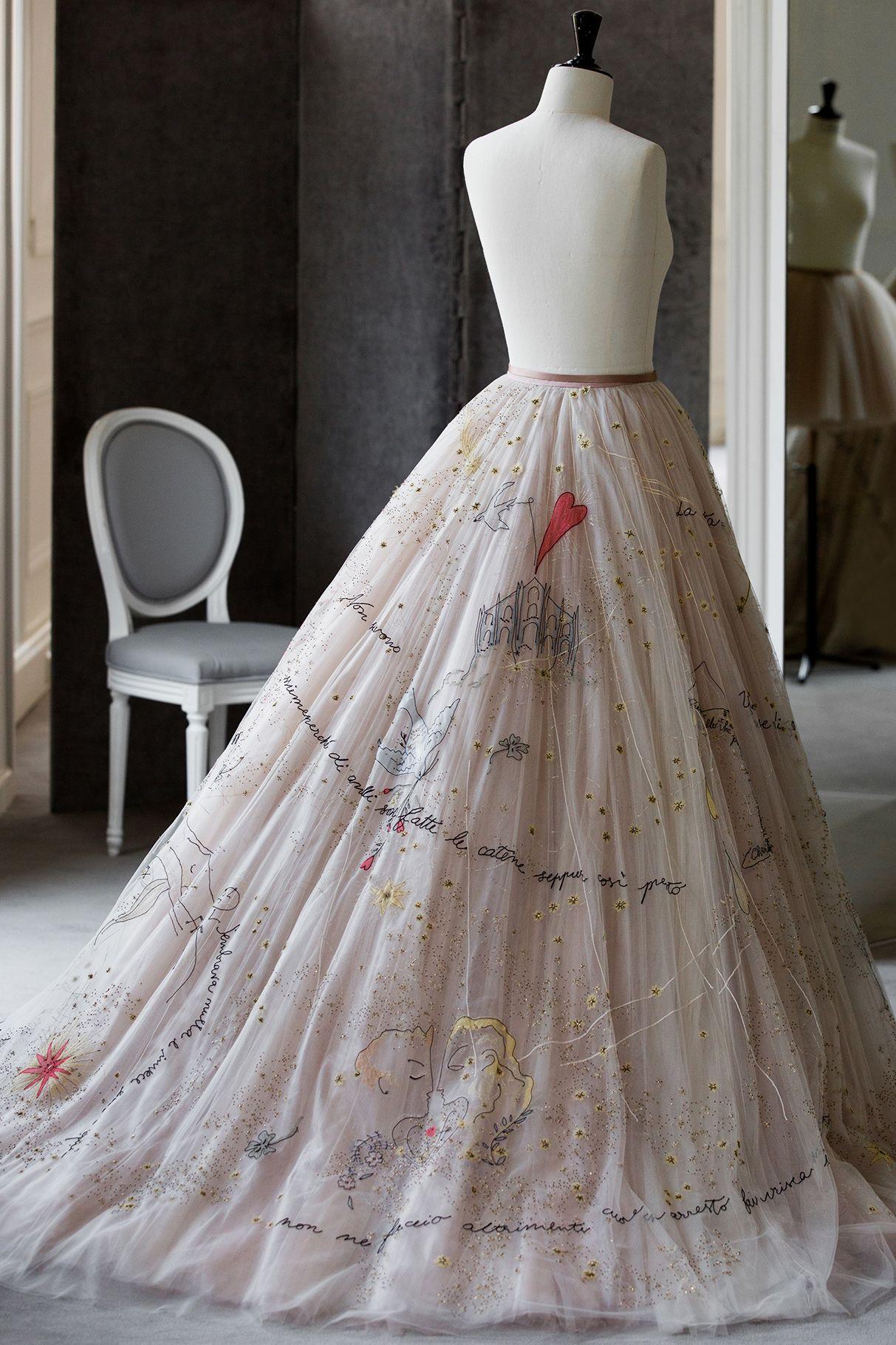 Chiara Ferragni En Dior Fashion Wedding Bridal In 2019