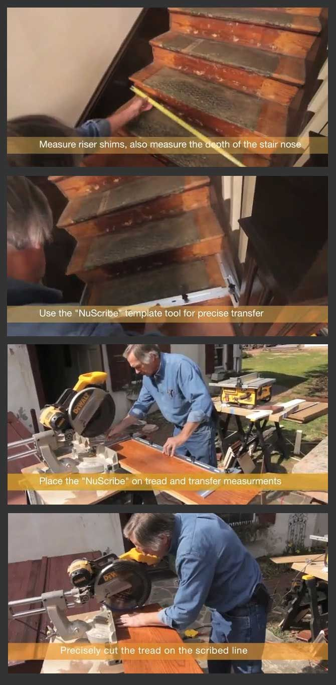 Best How To Refinish Or Retread Stairs Step By Step Refinish 400 x 300