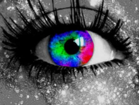 Desktop wallpapers color splash eyes sd colors desktop backgrounds paint splash human eye