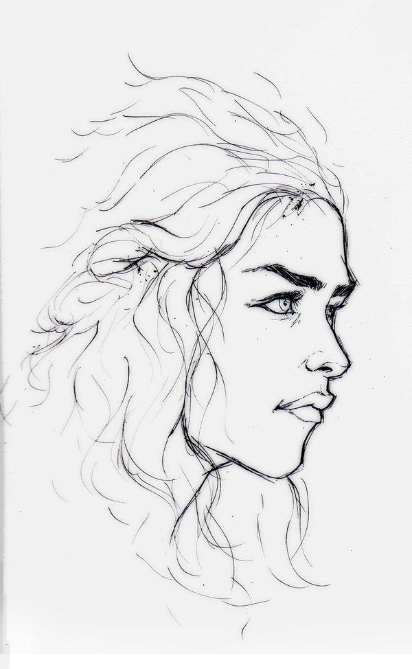 Game Of Thrones Daenerys By Wieldsthekey On Deviantart Game Of Thrones Drawings Game Of Throne Daenerys Drawing People
