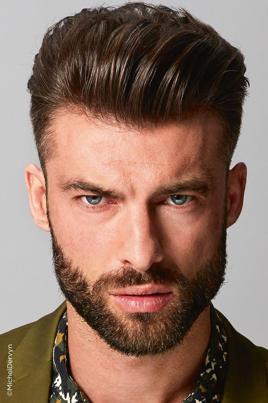 L Homme Collection Michel Dervyn Le Barbier Le Degrade Americain Coiffeurs Pour Homme Coupe Cheveux Homme Cheveux Homme