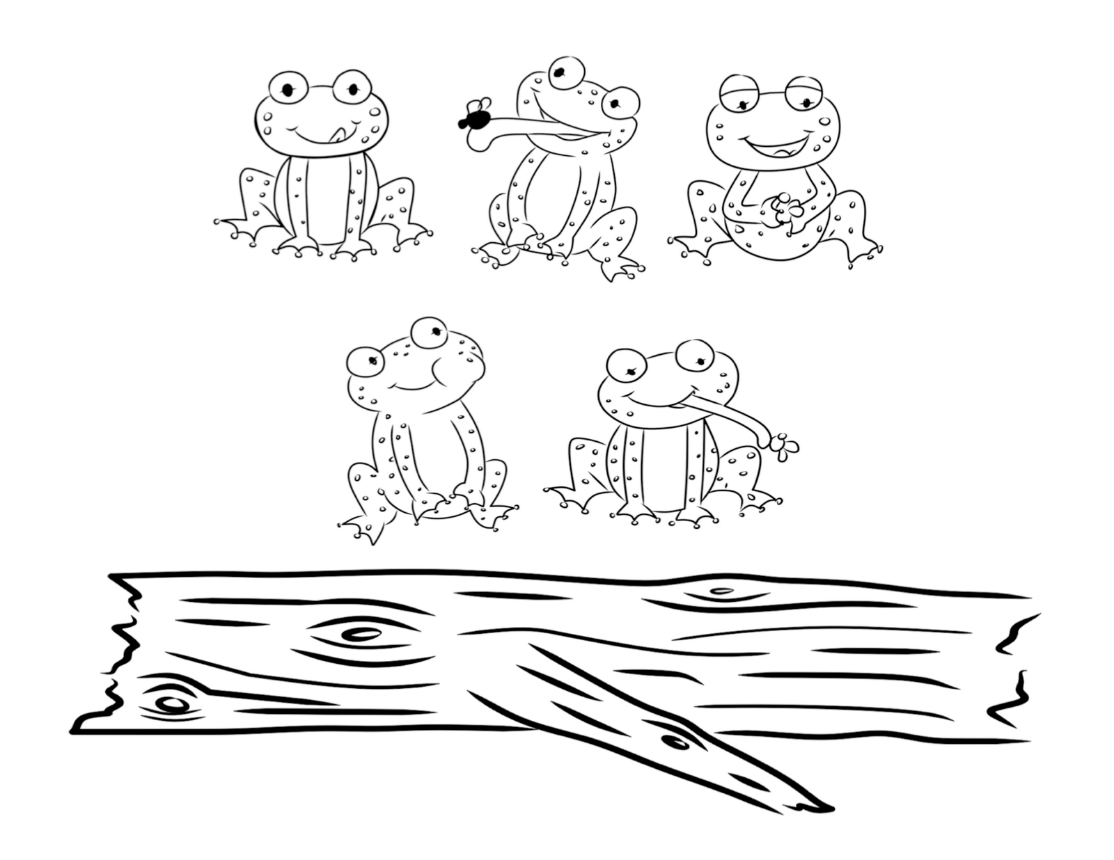 bust out your crayons: Five Little Speckled Frogs | Clever Stuff ...
