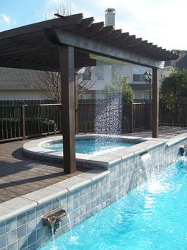 What a place to hang out on a hot day. Reed's Pool Svc & Design, Houston, TX