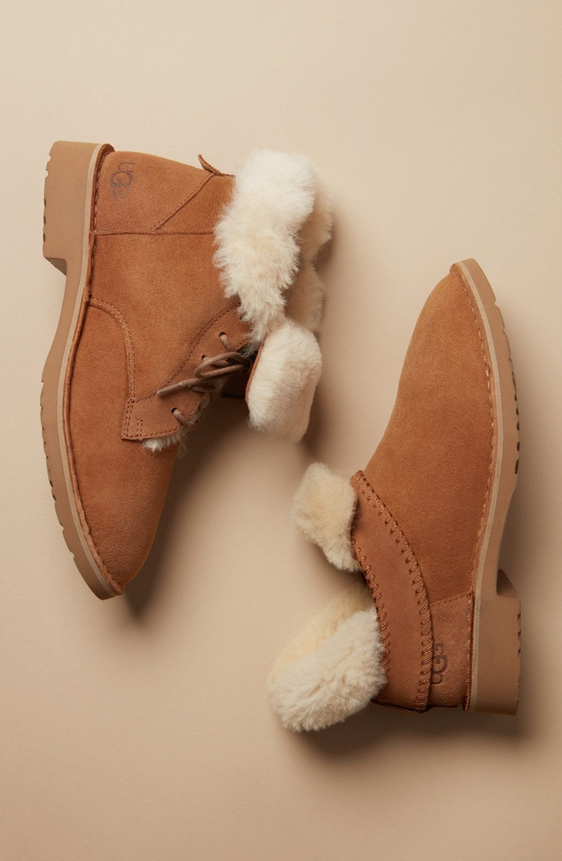 eb8623d1a9a Ugg 'Mckay' Water Resistant Bootie (Women), Chestnut Suede | Uggs in ...