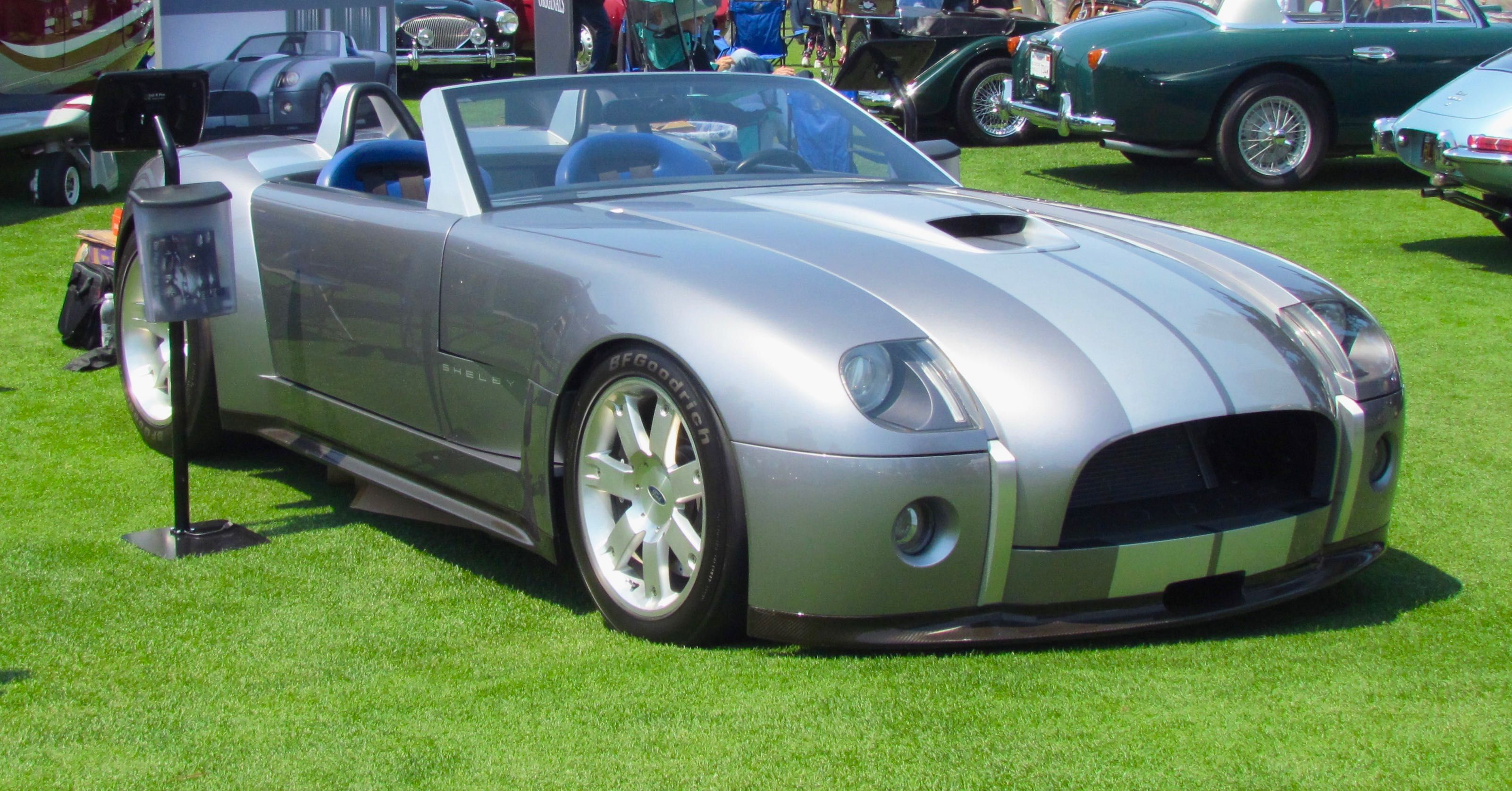 V10 Powered Ford Shelby Cobra Concept Up For Bidding In November