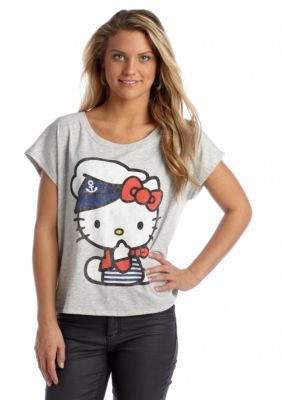 Mighty Fine  Hello Kitty First Mate Tee