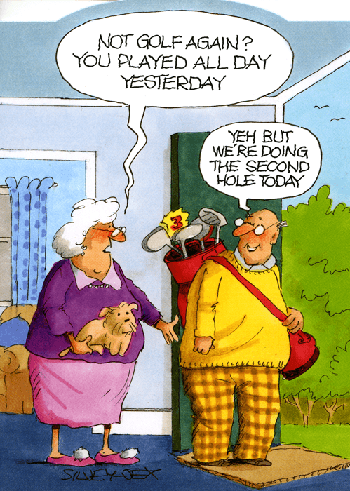 Golf again? Played all day yesterday #golfhumor