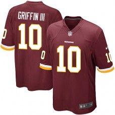 Elite Youth Nike Washington Redskins #10 Robert Griffin III Team Color NFL Jersey $79.99
