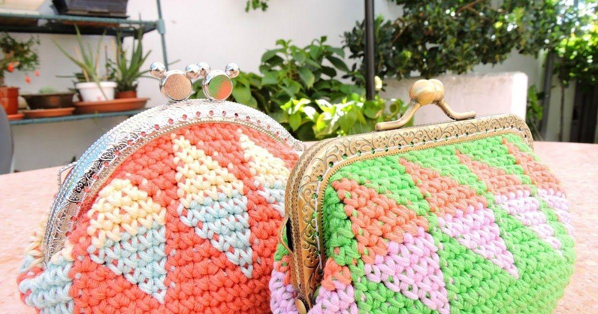 Happy Ganchillo : Tutorial monedero tapestry crochet | Monederos ...