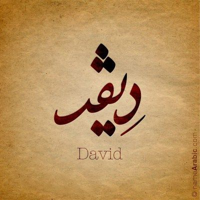 what does the name david mean in greek