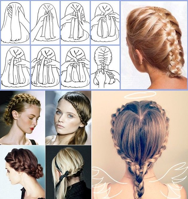 Make Your Own Hairstyle Simple The French Braid Is A Wonderful And Classic Hairstylealthough Its