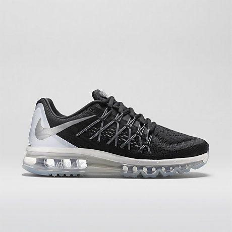 Nike Air Max 2015 Femme Chaussures Noir Blanc Blanc sommet Reflect Argent a5027850bbfc
