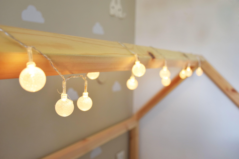 מאוד גרילנגת אורות, תאורת אווירה, שרשרת אורות, עיצוב חדר הילדים - עיצוב MD-34