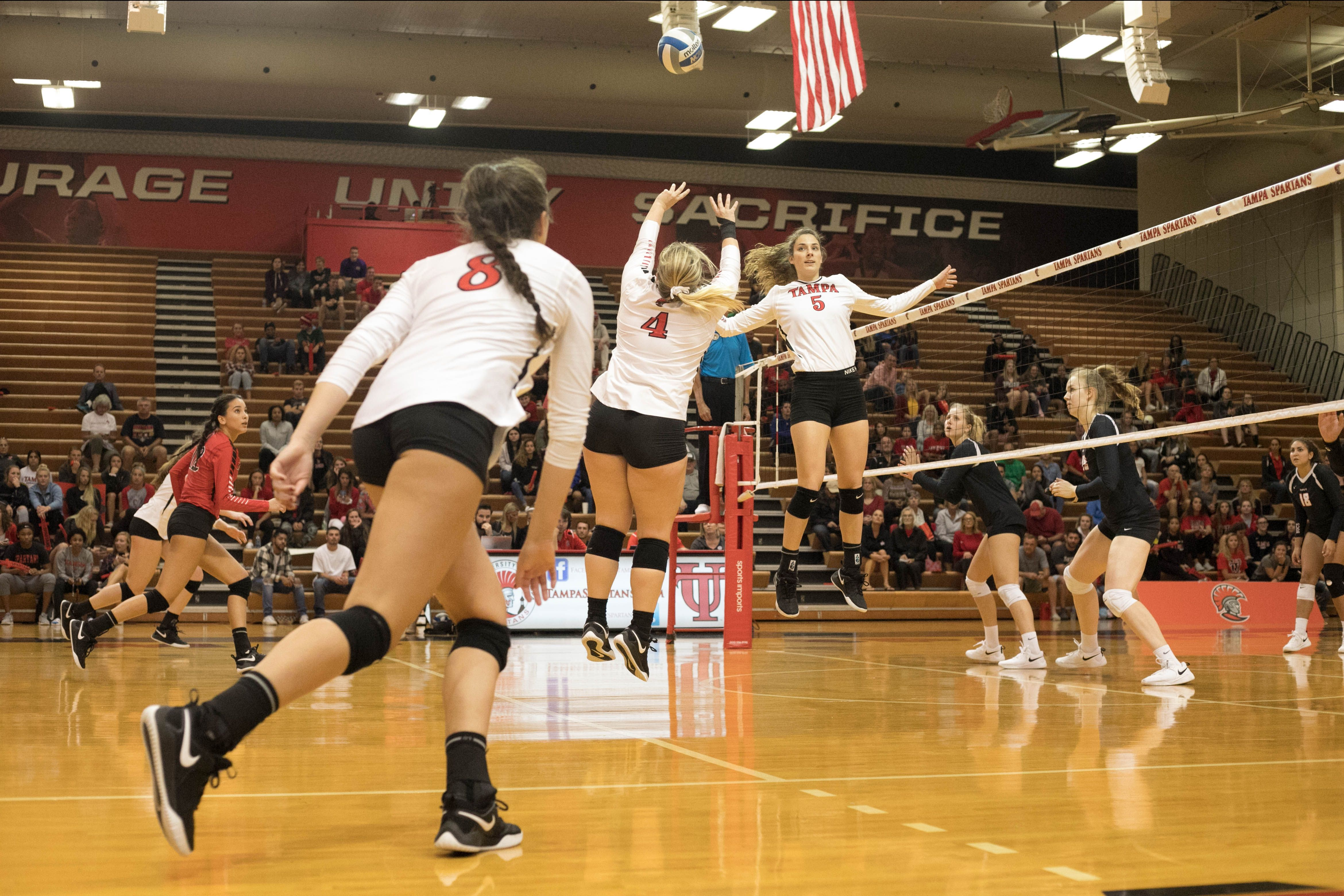 University Of Tampa Spartans Division Ii Athletics Women S Volleyball Women Volleyball University Of Tampa Volleyball