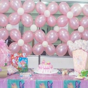 Low Cost Baby Shower Decorations Love The Balloon Decoration  Just Change  The Colors For Any