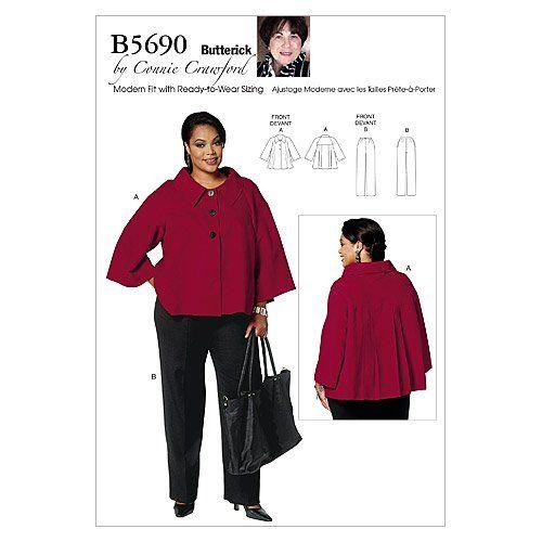 Pour jeune femme / femme veste et pantalon - MISS (XSM - SML - MED - LRG - XLG) Pattern: Amazon.fr: Cuisine & Maison