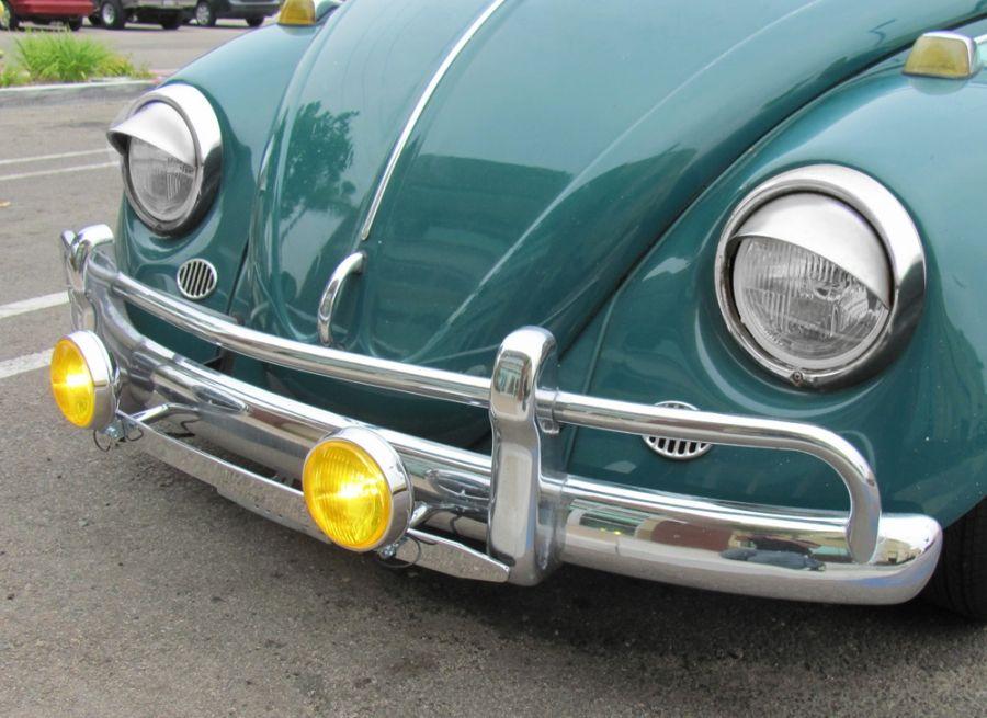 Vw 4 Fog Lamps Yellow Lens Pair Jbugs