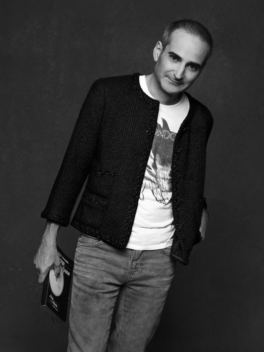 07a289791c33 Olivier Assayas wearing the Chanel Little Black Jacket as photographed by Karl  Lagerfeld.