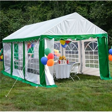 Party Tent 10 X 20 Enclosed Party Tents Provide Shade Shelter Protection For Your Next Party Event Or Special Party Tent Party Tents For Sale Event Tent