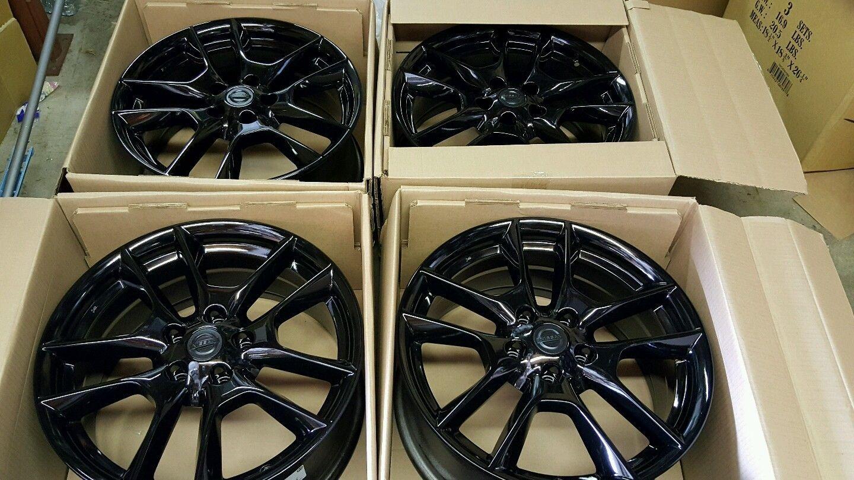 Set Of 4 Factory Nissan Maxima Wheels Rims 2009 2014 18x8 62511 Free Shipping For 650 00 Nissan Maxima Wheel Rims Nissan