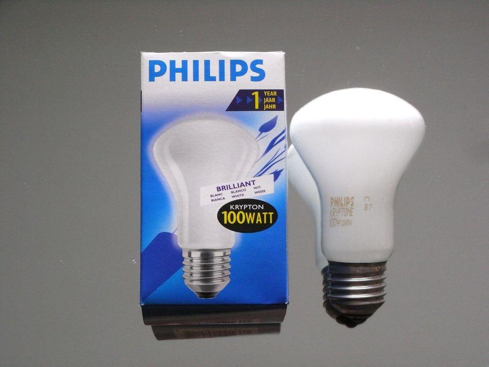 10 Stück x 100 Watt MATT Glühlampe E27 Glühbirnen 100W Glühlampen Glühbirne NEU
