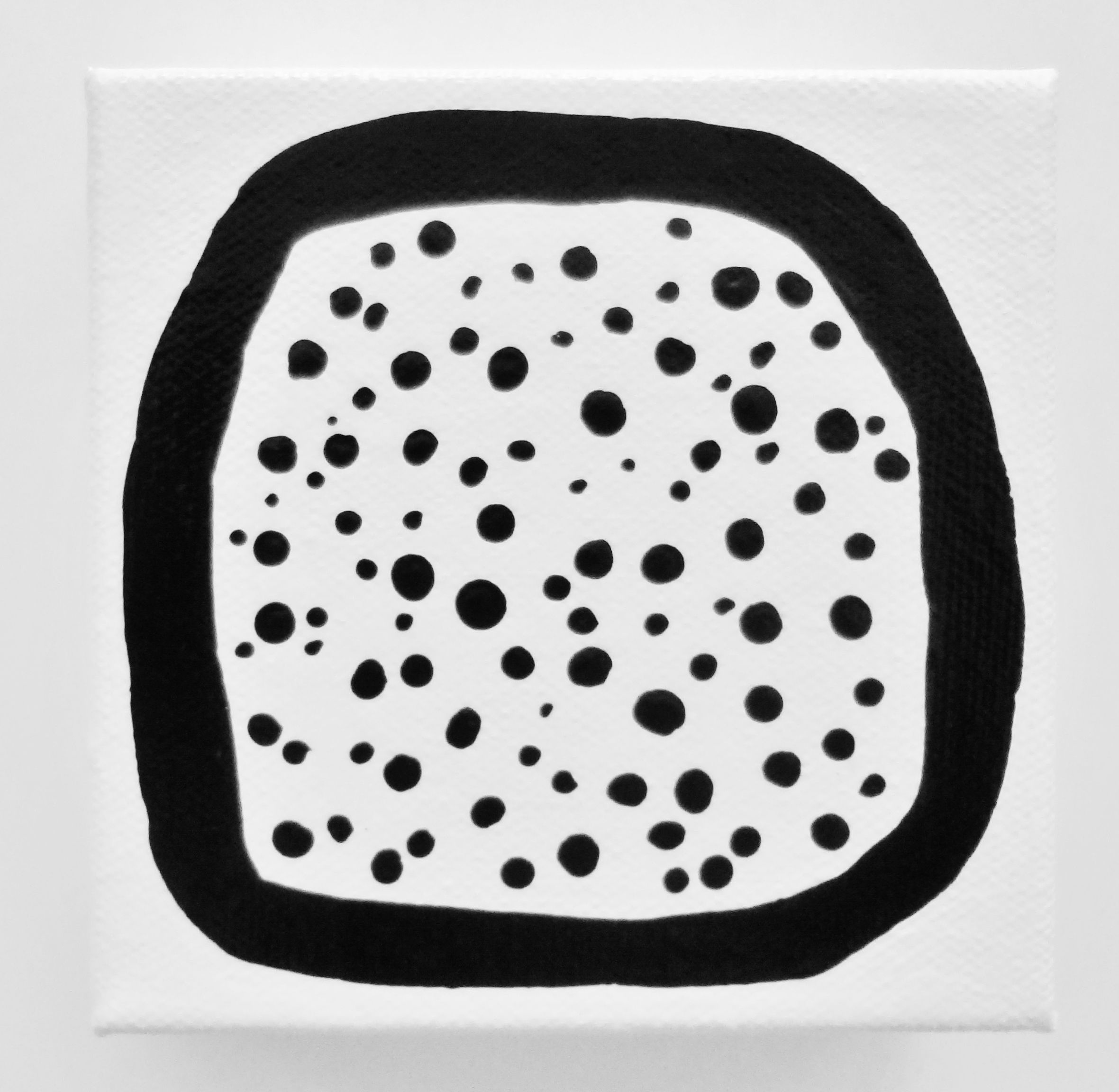 Lynda Black Polkadottydolls  Black And White Polka Dot Circle