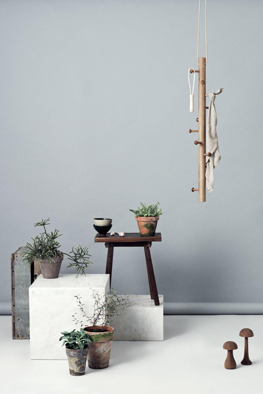 Copenhanger Hängende Design Garderobe Aus Holz Garderobe