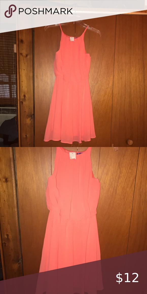 👋 3 for 25.00 Junior sized small coral dress