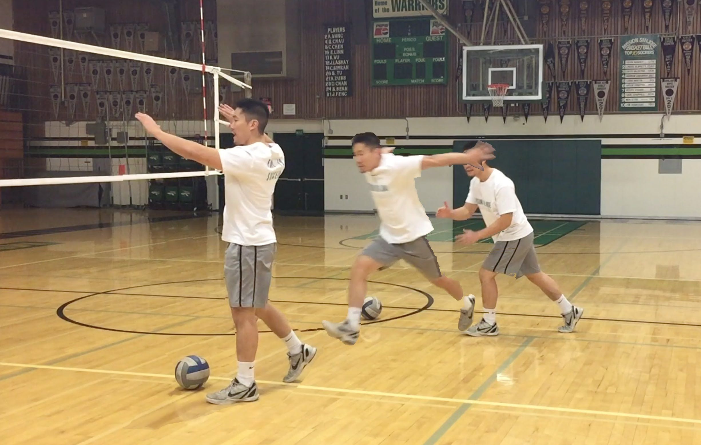 Right Side Attack Footwork Volleyball Volleyball Drills All Volleyball