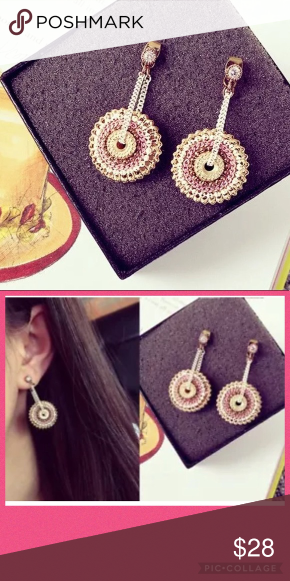 FOREVER 21 WHEEL CHAIN EARRINGS 💗 Chain earrings