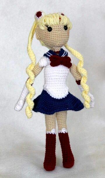 Amigurumi crochet   sailor moon usagi   handmade