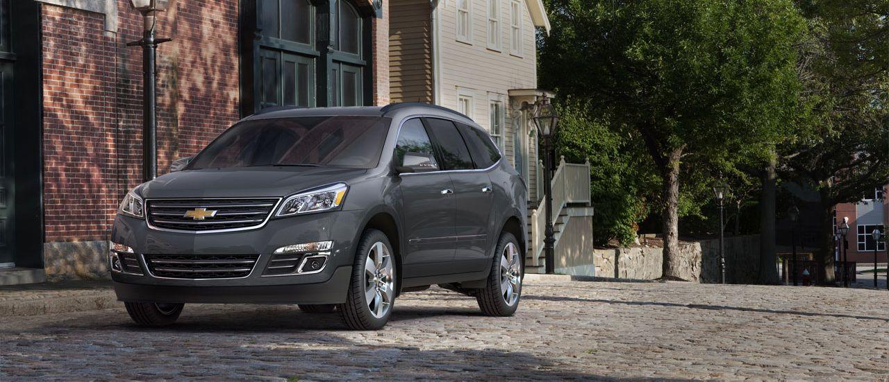 2013 Chevrolet Traverse Crossover SUV Tungsten Metallic