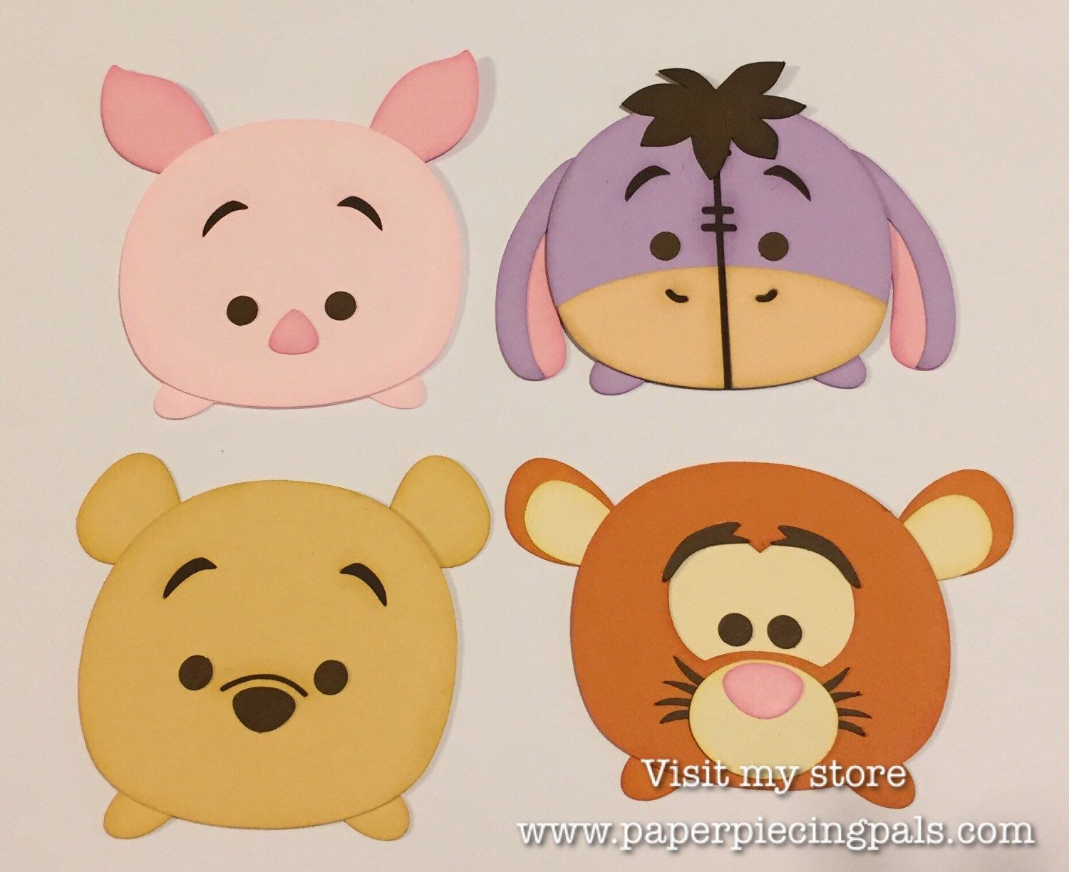 A personal favorite from my Etsy shop https://www.etsy.com/listing/266472235/premade-winnie-the-pooh-and-friends-tsum