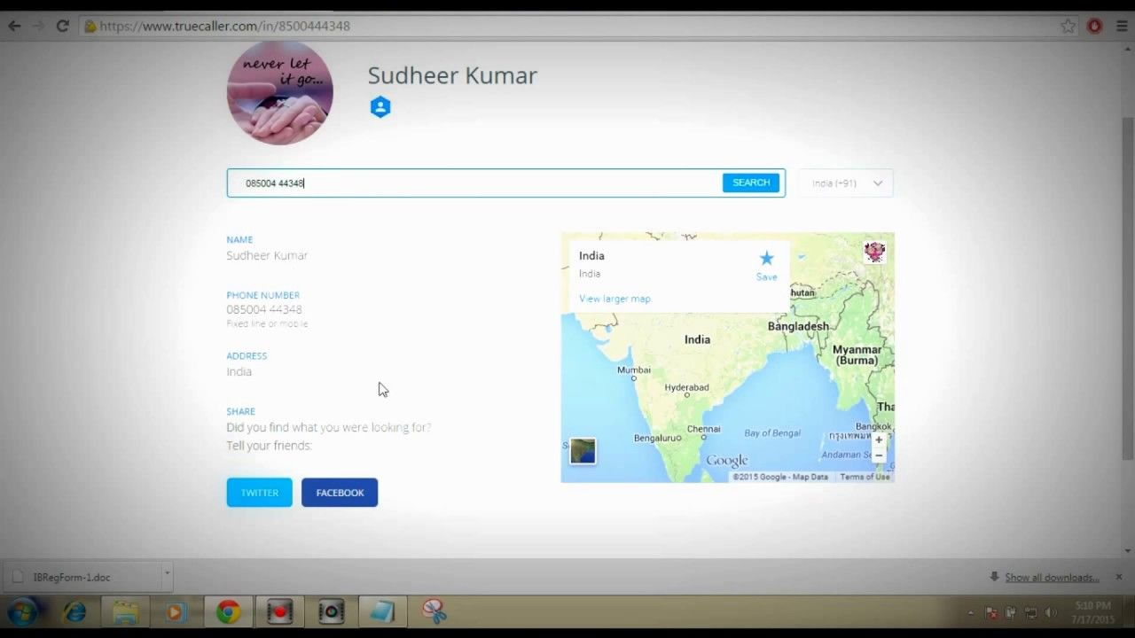 My Edited Video | how to trace mobile number current location online