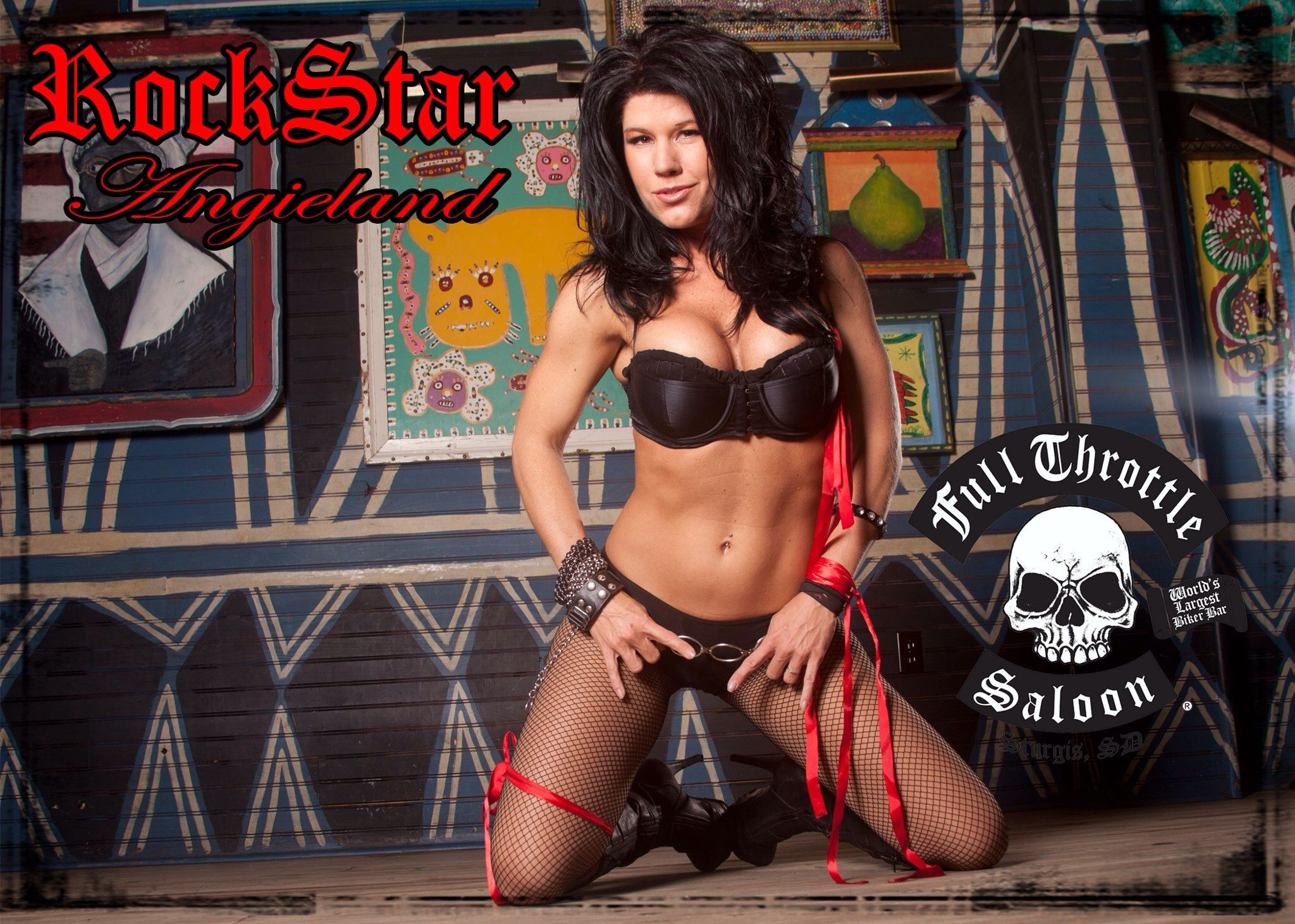 naked pics of angie from full throttle saloon