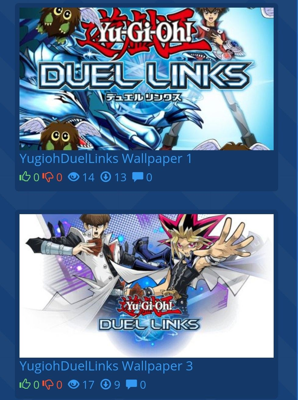 Free yugioh duellink wallpapers download for android, iOS