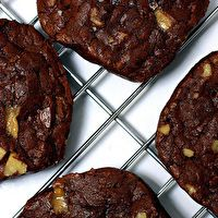 Chocolate Toffee Cookies by Smitten Kitchen
