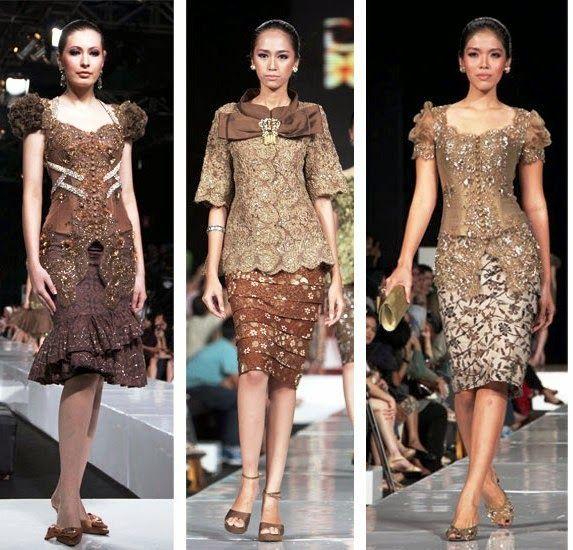 Model Baju Kebaya Casual Modis Dan Modern Fashion Kebaya Dress